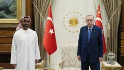 Cumhubaşkanı Erdoğan, BAE Ulusal Güvenlik Danışmanı'nı kabul etti