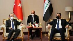 Ticaret Bakanı Muş, Irak Ticaret Bakanı Obaid ile bir araya geldi
