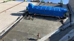 Yoncalı Barajı'nın ön yüz beton imalatına başlandı