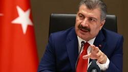 Sağlık Bakanı Fahrettin Koca: 2 ilimiz sarı oldu