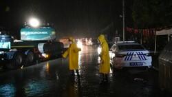 Sel felaketinin yaşandığı Kastamonu Bozkurt'ta sağanak yağış