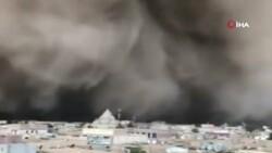 Cezayir'de kum fırtınası çıktı