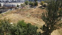 Eyüpsultan'da parkın yıkımına tepki: Taksim'de üç tane ağaç yıkılacak diye ayağa kalktınız