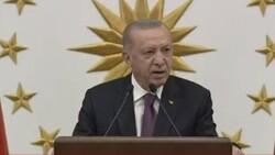 Cumhurbaşkanı Erdoğan, milli sporcularla bir araya geldi