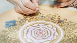 Altınla nakış nakış işlenen sanat: Tezhip