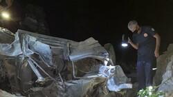 Adana'da otomobil uçuruma düştü: 3 ölü