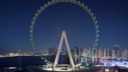 Dubai'de 1750 kişilik dünyanın en büyük dönme dolabı