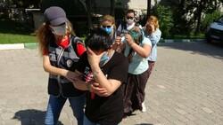 Samsun'da kadınlar lüks araçla hırsızlık yaptı