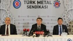 Türk Metal Sendikası'nın zam talebi