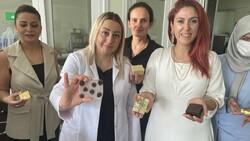 Ordu'da kadınlar fındık yağından sabun üretti