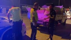 Bursa'da ehliyetsiz sürücü polise yakalandı