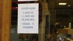 Diyarbakır'da esnaftan aşılı müşteriye indirim kampanyası