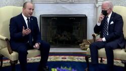 ABD Başkanı Joe Biden ve İsrail Başbakanı Naftali Bennett bir araya geldi