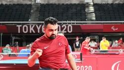 Nesim Turan paralimpik oyunlarında bronz madalya kazandı