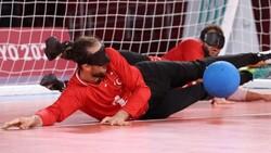 Tokyo Paralimpik Oyunları'nda Türkiye golbol takımı, Çin'i yendi