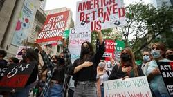 ABD'de Taliban protesto edildi