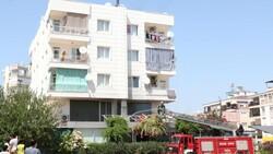 Antalya'daki balık restoranının bacası yandı