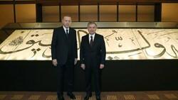 Cumhurbaşkanı Erdoğan, Özbekistanlı mevkidaşıyla görüştü