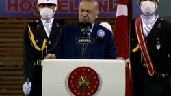 Cumhurbaşkanı Erdoğan, subay ve astsubay mezuniyet töreninde