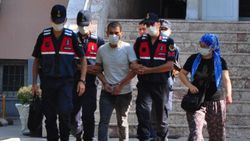Manisa'da kanepenin altındaki çukurda yakalanan şüpheli tutuklandı