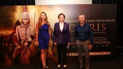İYİ Parti Genel Başkanı Meral Akşener, Tomris Hatun filminin galasında
