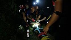 Karabük'te polisten kaçarken 5 metre yüksekten düşen gencin bilinci kapandı