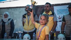 İdlibli çocuklar için Umut Olimpiyatları