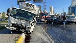 Esenyurt'ta kaza geçiren polis memuru için meslektaşları seferber oldu