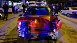 Bursa'da polisten kaçan alkollü sürücü kaza yaptı: 2 yaralı