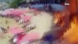Lübnan'da plajda tüp patlaması: 7 yaralı