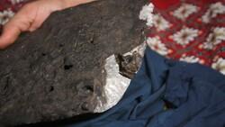 Diyarbakır'da aldığı ithal kömürden göktaşı çıktı