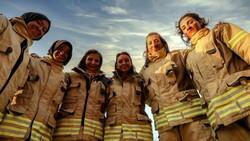İstanbul'da kadın itfaiyeciler göreve hazır