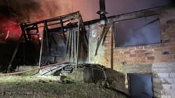Bartın'da evinin yandığını fark eden kişi ölmekten son anda kurtuldu