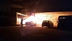 Denizli'de madde bağımlısı genç, otomobili ateşe verdi