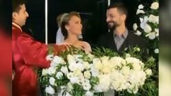 Vildan Atasever ile Mehmet Erdem dünyaevine girdi! İşte düğünden ilk kareler...