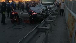 Ankara'da feci kaza: 5 ölü