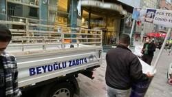 Beyoğlu'nda 'Kaçak Tur' stantlarına ceza yağdı