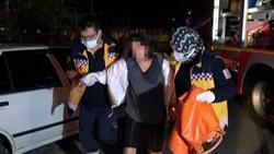 Düzce'de yurtta kalmak istemeyen genç kız, odasını yaktı