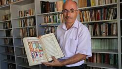 Denizlili gazeteci, kütüphane hayalini 40 yıl sonra köyünde gerçekleştirdi