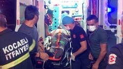 Kocaeli'nde kaza yapan şoför: Hastaneye gidemem, çalışmam lazım
