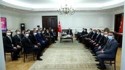 İçişleri Bakanı Süleyman Soylu mülkiye müfettişleriyle buluştu