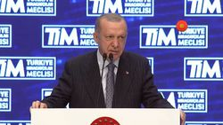 Cumhurbaşkanı Erdoğan, TİM Genel Kurulu'na katıldı