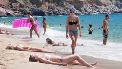 Turizmcilerin İngiliz turist sevinci