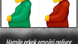 Unicode Konsorsiyumu hamile erkek emojisinin geleceğini söyledi