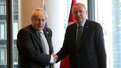 Cumhurbaşkanı Erdoğan, Boris Johnson'u kabul etti