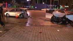 Ankara'da zincirleme kaza: 2 yaralı