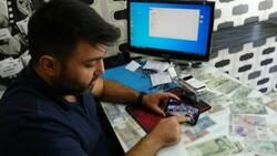 Mersin'de bir hırsız, bozuk telefonu çaldı