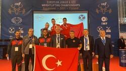 Avrupa Halter Şampiyonası'da genç millilerden 6 madalya