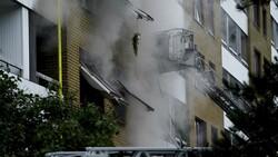İsveç'te bir apartmanda patlama: 25 yaralı