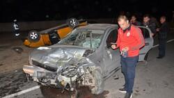 Kahramanmaraş'ta 4 aracın karıştığı kazada 6 kişi yaralandı